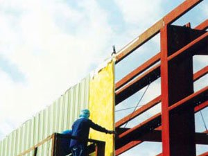 FIXING OF INSUALTED WALL SHEETING